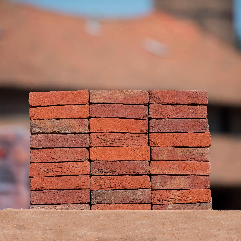 Antigoon oranje midden rood genuanceerd steenfabriek vogelensangh - Kussen oranje en bruin ...