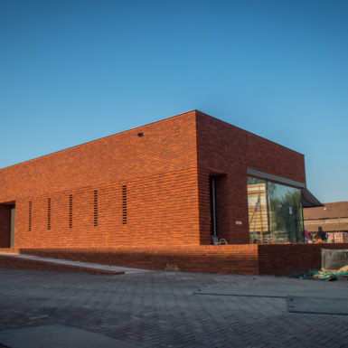 'De Architect' over: Ontvangstpaviljoen Steenfabriek Vogelensangh